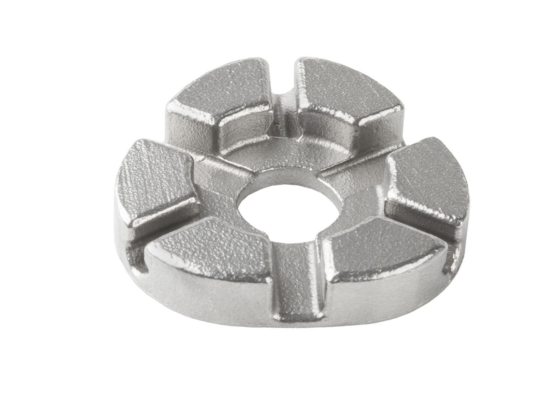 Захват д/спиц 5-880336 профи 3,2/3,3/3,4мм сталь эргоном. дизайн серебр. cnSPOKE